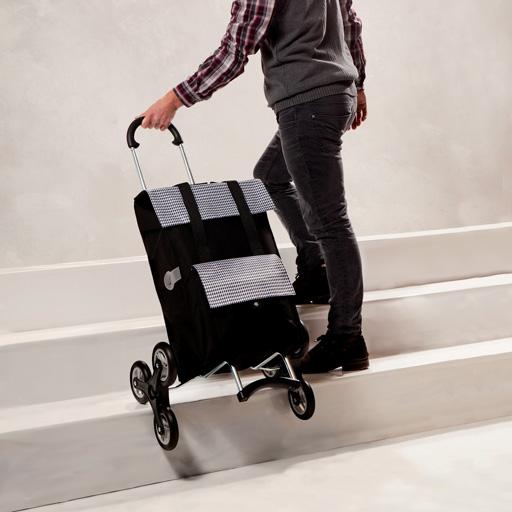 chariot de courses 6 roues andersen un caddie pratique. Black Bedroom Furniture Sets. Home Design Ideas
