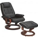 Fauteuil relaxation manuel cuir rotation 360° densité 26kg/m3