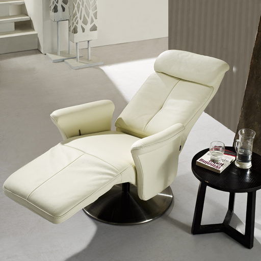 fauteuil relax cuir manuel de luxe design contemporain. Black Bedroom Furniture Sets. Home Design Ideas
