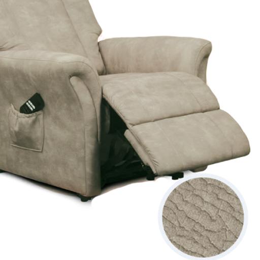 Fauteuil relaxation en microfibre avec un dossier ergonomique - Comment nettoyer un fauteuil en microfibre ...