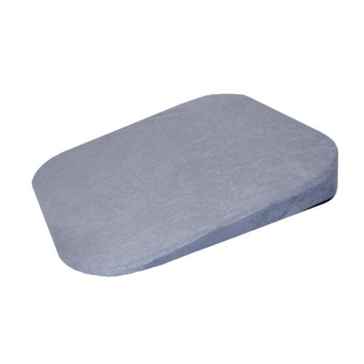 Coussin d'assise dos gris épaisseur fine 1 à 6 cm