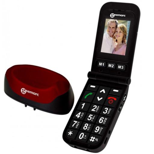 Téléphone Portable son amplifié Geemarc CL8400-EPUISE
