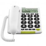 Téléphone Fixe son amplifié avec écran Doro phone easy 312cs