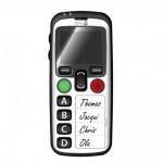 Téléphone Portable Doro localisation GPS appel d'urgence