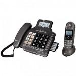 Duo téléphones fixes répondeur avec et sans fil Geemarc