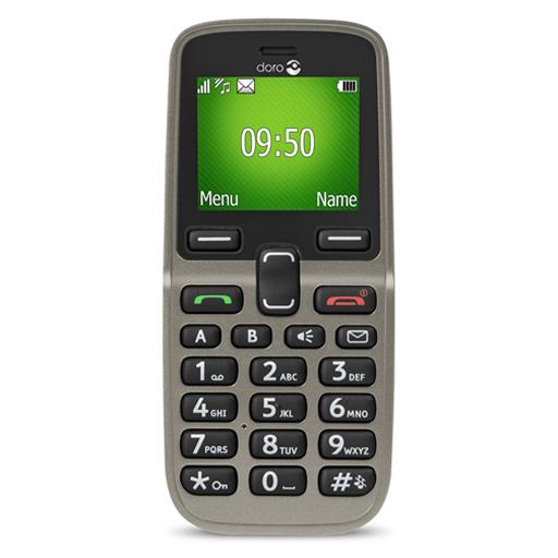 Téléphone Portable Doro Simplifié Champagne