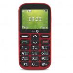 Téléphone Portable Doro Simplifié Rouge