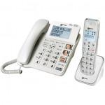 Duo téléphone fixe et sans fil répondeur 3 photos Geemarc avec répondeur
