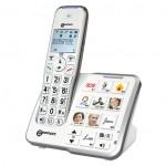 Téléphone Fixe sans Fil répondeur son amplifié Geemarc Photos