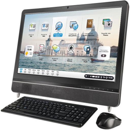 Ordinateur ordissimo pour les seniors ecran tactile 24 39 39 - Bureau pour ordinateur fixe ...