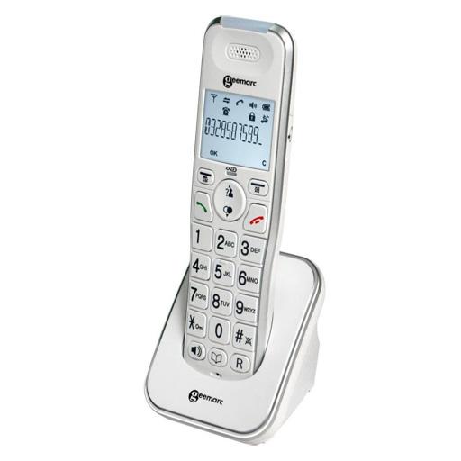 Téléphone fixe sans fil Geemarc base ou satellite GAP
