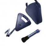 Canne Siège Standard réglable pliable Flipstick bleue + housse