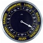 Horloge 7 jours de la semaine et heure