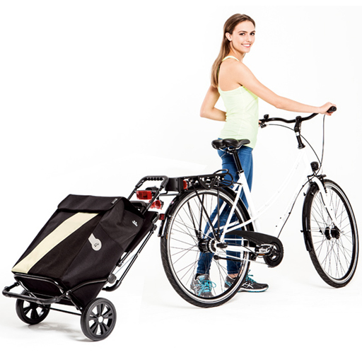 caddie chariot de courses sac noir 49 litres isotherme. Black Bedroom Furniture Sets. Home Design Ideas