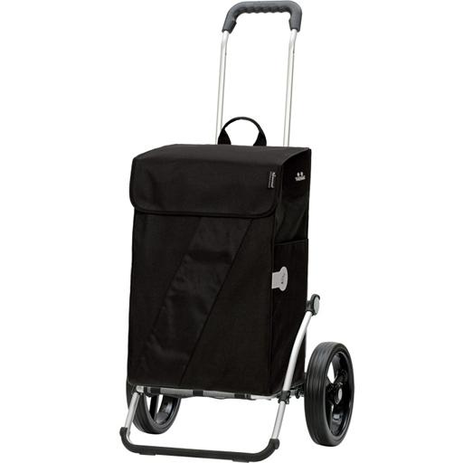 chariot de courses andersen vika noir sac isotherme 49l. Black Bedroom Furniture Sets. Home Design Ideas