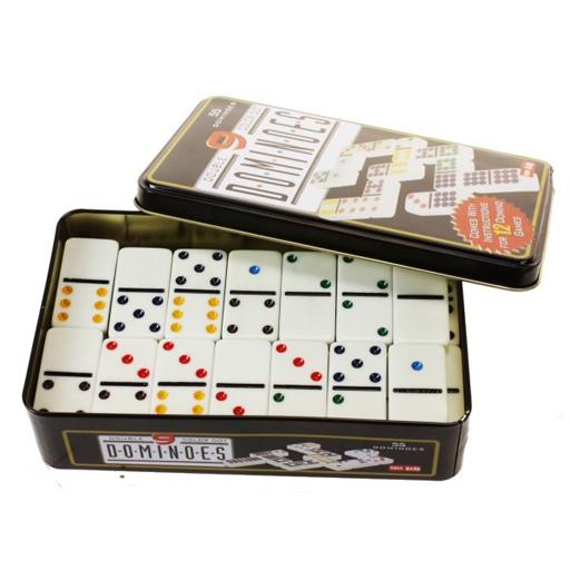 Dominos 55 pièces relief et couleur - EPUISE