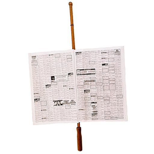 Porte Journal en bois hêtre véritable