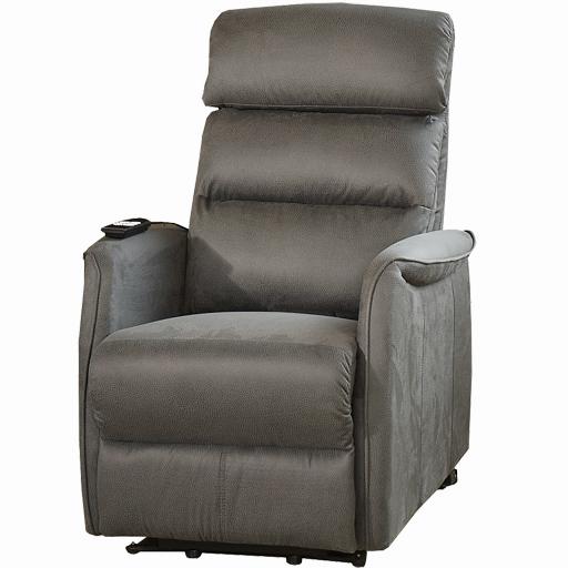 Fauteuil Releveur Relaxation 2 moteurs densité 29kg/m3 microfibre imitation cuir