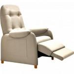 Fauteuil Releveur Relaxation Lit télescopique 100% cuir 3 moteurs