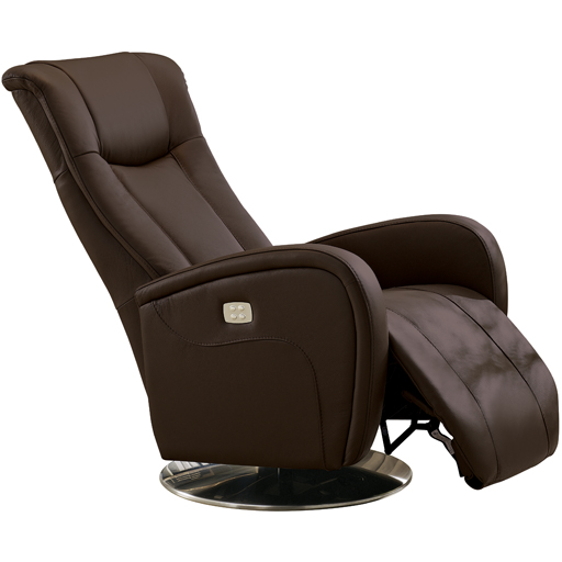 Fauteuil Relaxation Volden manuel microfibre imitation cuir rotation 360°