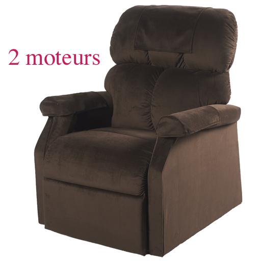 Fauteuil releveur relaxant lit massant chauffant 2 moteurs am ricains garanti - Fauteuil chauffant massant ...