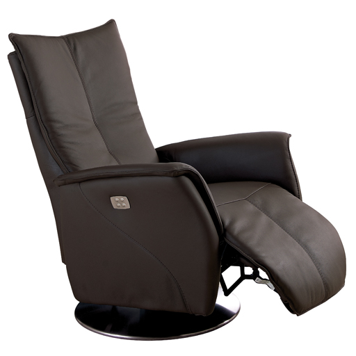 fauteuil relax electrique 2 moteurs en cuir de grande qualit. Black Bedroom Furniture Sets. Home Design Ideas