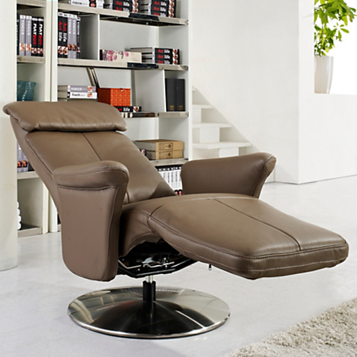 fauteuil relax cuir manuel de luxe design contemporain. Black Bedroom Furniture Sets. Home Design Ideas