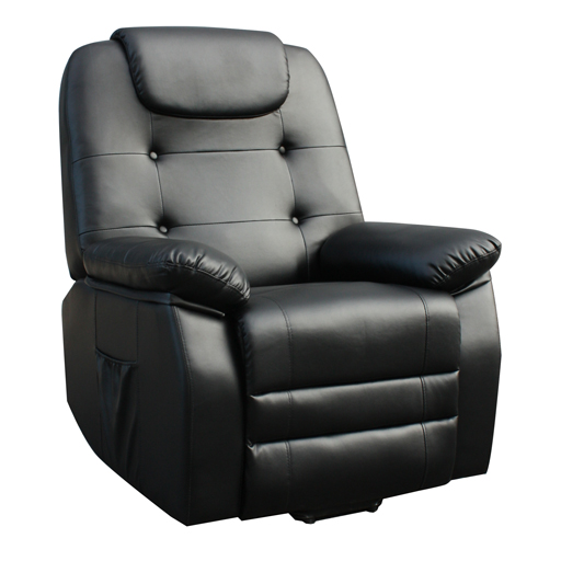 fauteuil releveur relaxant massant shiatsu simili cuir. Black Bedroom Furniture Sets. Home Design Ideas