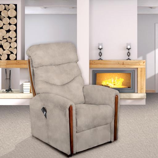 fauteuil releveur relaxant lit 2 moteurs allemands grande taille. Black Bedroom Furniture Sets. Home Design Ideas