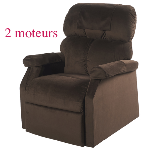 fauteuil releveur relaxant lit massant chauffant 2 moteurs. Black Bedroom Furniture Sets. Home Design Ideas