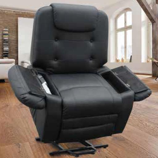 fauteuil releveur relaxant massant shiatsu simili cuir. Black Bedroom Furniture Sets. Home Design Ideas