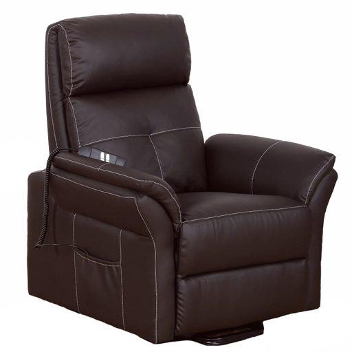fauteuil releveur relaxant cuir 2 moteurs. Black Bedroom Furniture Sets. Home Design Ideas