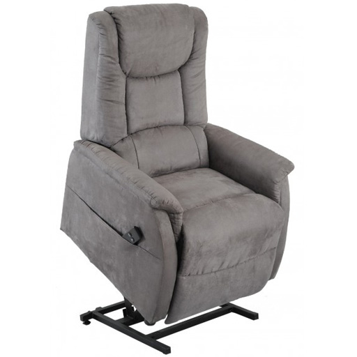 fauteuil releveur relax releveur 1 moteur cale reins microfibre. Black Bedroom Furniture Sets. Home Design Ideas