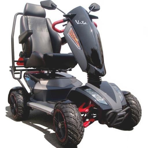 Scooter Heartway tout terrain 4 roues crantées 15 km/h autonomie 50km