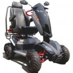 Scooter Heartway tout terrain 4 roues crantées 15 km/h autonomie 45km