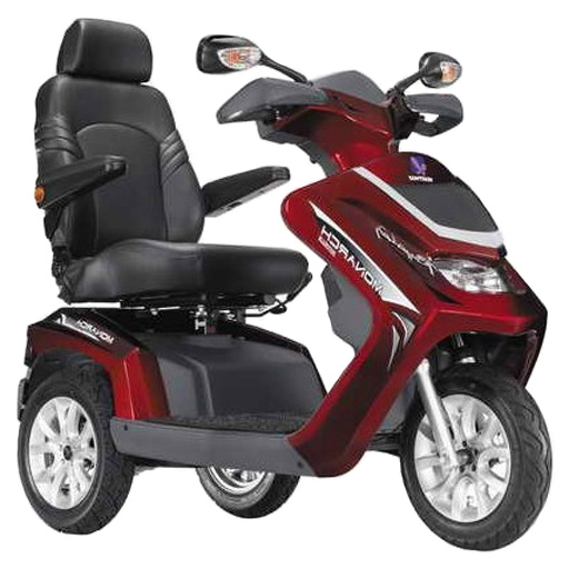 scooter electrique heartway 3 roues 15 km h autonomie 50km. Black Bedroom Furniture Sets. Home Design Ideas