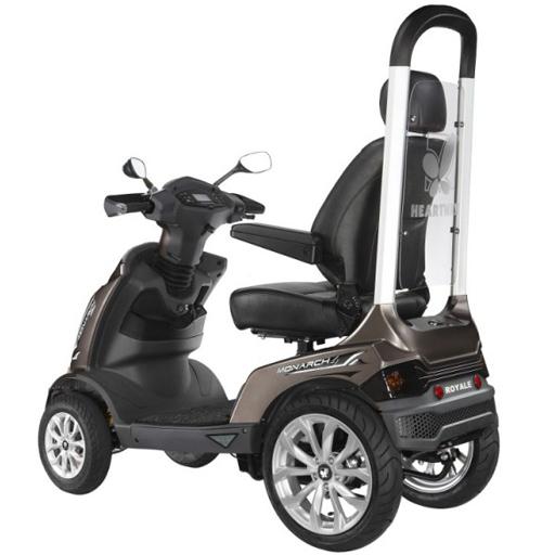 scooter electrique heartway avec protection toit autonomie. Black Bedroom Furniture Sets. Home Design Ideas