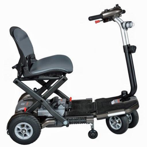 Scooter Heartway pliant 5 km/h Autonomie 20km ultra léger 27kg