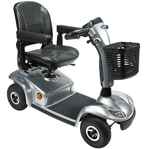 Scooter portable Invacare gris 8 km/h autonomie 36km