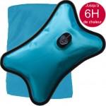 Bouillotte Magique Electrique bleue grand modèle + Housse bleue Offerte