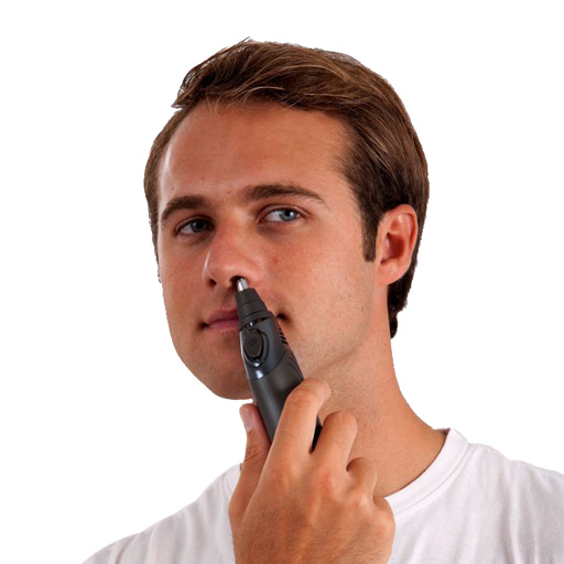 Mini tondeuse nez, oreilles, sourcils, et barbe