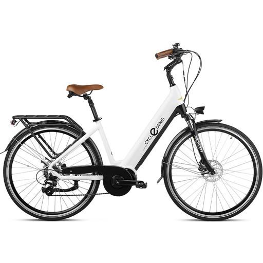 Vélo Electrique CYCLEDENIS 7V roues 28 moteur central frein disc hy bat.invisible 105km
