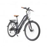 Vélo Electrique CYCLEDENIS grande taille roues 28 freins disc bat.invisible 522Wh Auto.100km