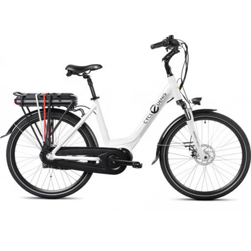 Vélo Electrique CYCLEDENIS N3 roues 26 moteur central freins disc 468Wh Auto.90km