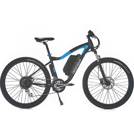 Vélo Cross Electrique NEOMOUV Autonomie 100km 7vit. cadre 44 cm