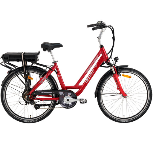 Vélo Electrique NEOMOUV Carlina 630Wh freins patins Autonomie 120km