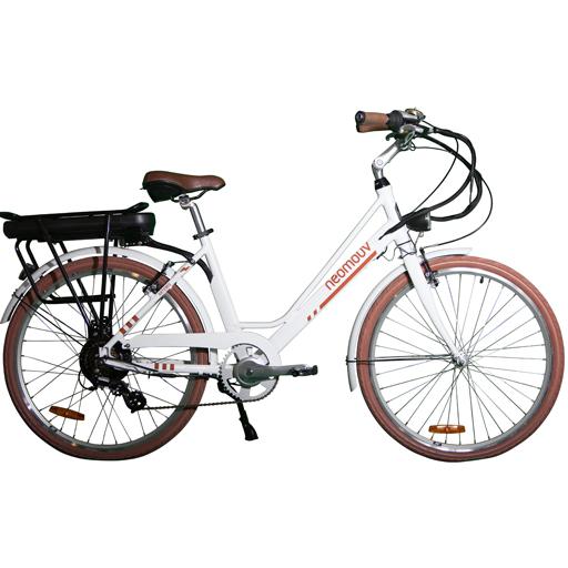 Vélo Electrique NEOMOUV Artemis 580Wh 16Ah Autonomie 100km 7vit.