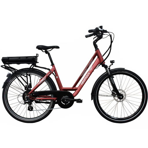 Vélo Electrique NEOMOUV Car 17,2Ah 630Wh freins hydrauliques Autonomie 120km