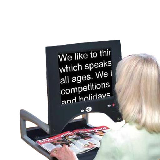 Télé-agrandisseur pliant écran 15